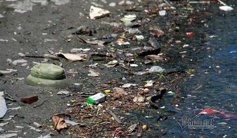 hồ Cô Tiên ô nhiễm