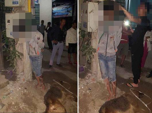 trộm chó,ăn trộm,người dân,Bắc Giang