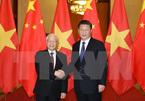 Tổng bí thư gửi điện mừng lãnh đạo Trung Quốc
