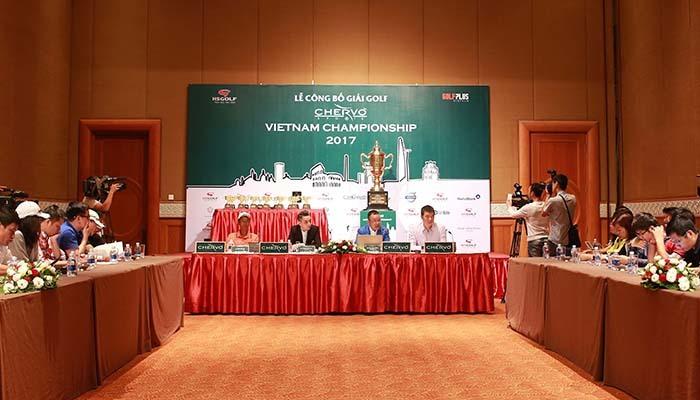 Gần 300 golfer dự giải Chervo Vietnam Championship 2017