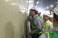 Nứt chằng chịt hầm Hải Vân: Bộ GTVT lập tổ công tác theo dõi