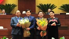 Ra mắt tân Tổng Thanh tra Chính phủ và Bộ trưởng GTVT