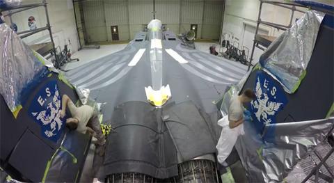 Xem video tua nhanh lính Mỹ sơn chiến cơ Đại bàng Tấn công F-15E