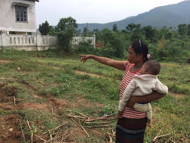 Người phụ nữ Bru – Vân Kiều hiến 800 m2 đất làm điểm trường mầm non