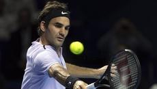 """Federer """"tốc hành"""" vào tứ kết Basel Open"""