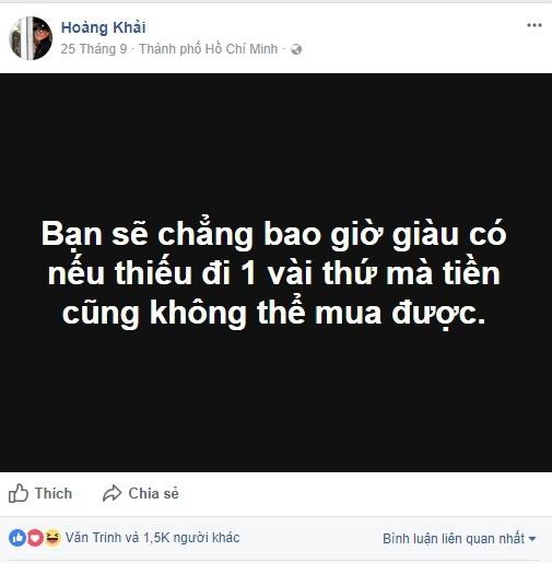 Bán hàng Tàu mác Việt, đại gia Hoàng Khải rao giảng đạo đức kinh doanh