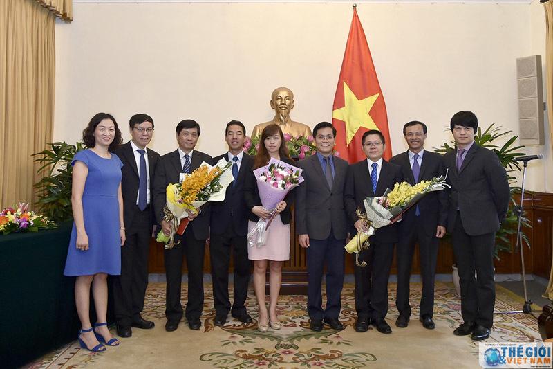 Nhân sự mới Bộ Ngoại giao