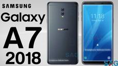 Galaxy A7 2018 sẽ có cấu hình khủng, RAM lên tới 6GB