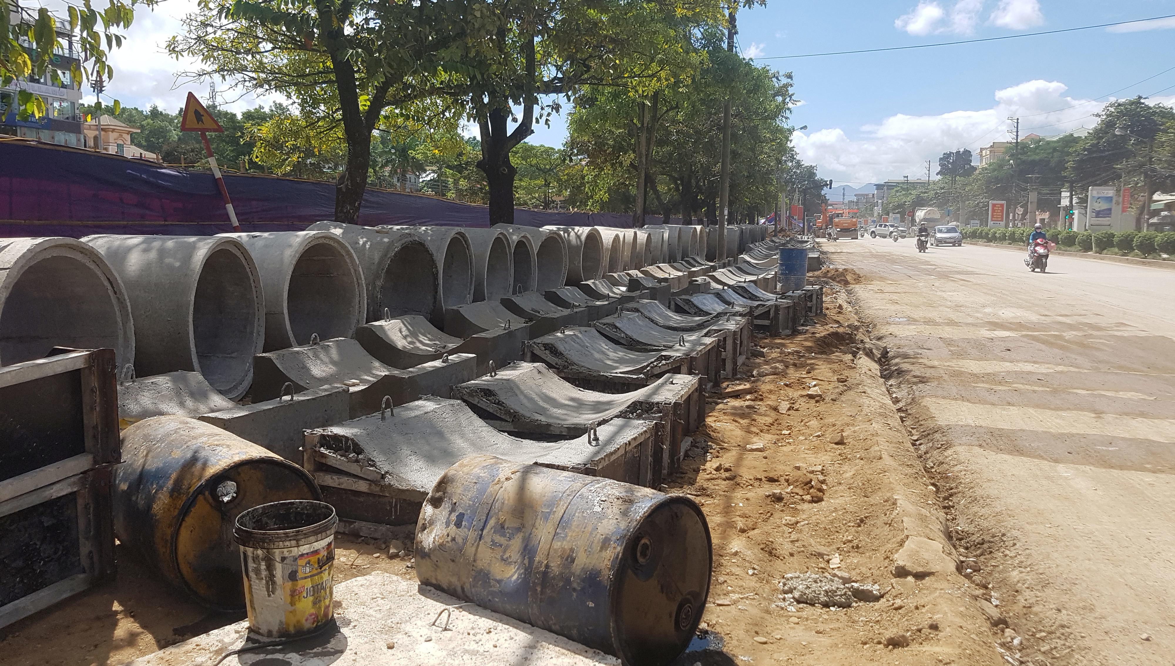 Điện Biên: 195 tỷ nâng cấp 3,3 km đường trung tâm
