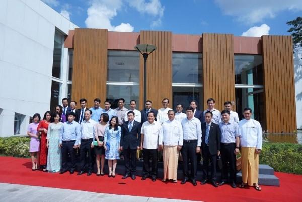 Liên doanh viễn thông là minh chứng cho hợp tác toàn diện Việt Nam-Myanmar