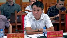 Cho thôi chức Giám đốc Sở TN&MT Yên Bái Phạm Sỹ Quý