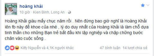 Ông chủ Khaisilk âm thầm đóng facebook cá nhân