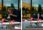 MC gặp sự cố tai hại vì ăn uống khi… đang lên sóng