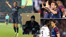 """Vắng Neymar, PSG thắng """"ba sao"""" nhờ cú đúp của Cavani"""
