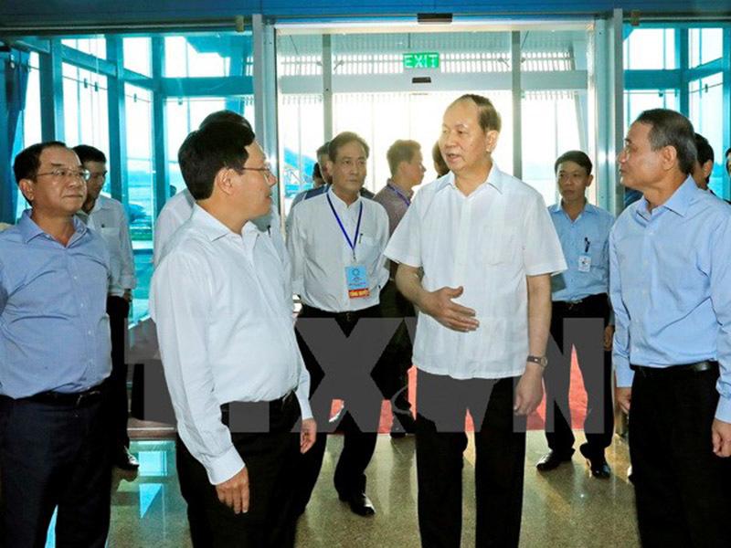 Chủ tịch nước kiểm tra công tác lễ tân, an ninh cho Tuần lễ Cấp cao APEC