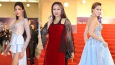 Dàn mỹ nhân đọ sắc trên thảm đỏ Hoa hậu Đại dương 2017