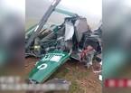 Rơi trực thăng ở Trung Quốc, hai người chết
