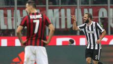 Higuain chói sáng, Juventus nhấn chìm Milan