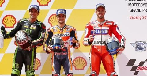 Phân hạng MotoGP Malaysia: Dani Pedrosa gây bất ngờ