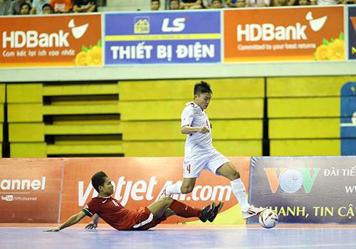 Giải Futsal AFF HDBank Cup2017: tuyển Việt Nam giữ vé bán kết