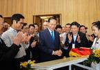 Chủ tịch nước thăm cung hội nghị quốc tế phục vụ APEC