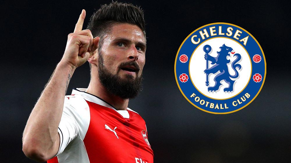 Giroud được Chelsea quan tâm sau khi mất suất đá chính ở Arsenal