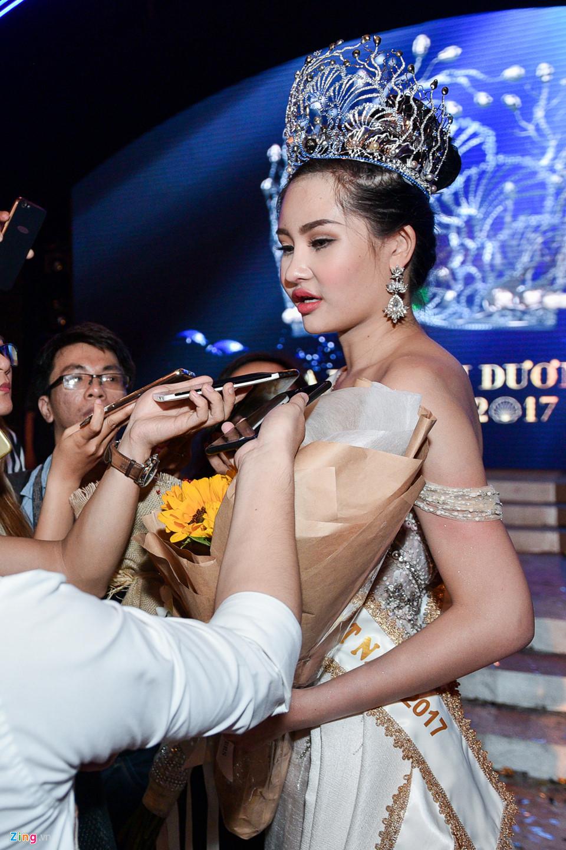 Hoa hậu Đại dương 2017 bị chê kém sắc