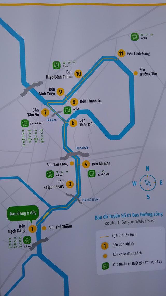 Buýt đường sông đầu tiên ở Sài Gòn lại trễ hẹn ngày khai trương