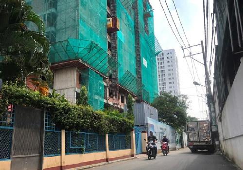 chung cư,quy hoạch đô thị,mật độ xây dựng,tắc các con phố