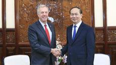 Chủ tịch nước tiếp Đại sứ Hoa Kỳ chào kết thúc nhiệm kỳ