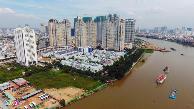 Đất bờ sông Sài Gòn: Lên đến hơn 700 triệu/m2
