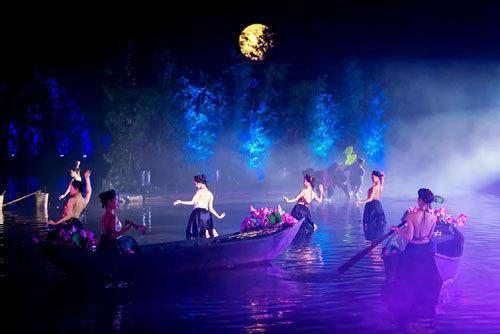 Hoàng Nhật Nam đưa văn hóa Bắc Bộ vào show thực cảnh