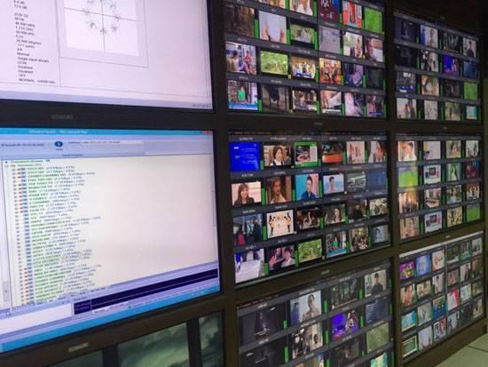 VTC chuyển phát số vệ tinh bằng hệ thống trung tâm tín hiệu truyền hình công nghệ mới