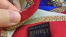 Lập đoàn kiểm tra nguồn gốc xuất xứ khăn lụa Khaisilk
