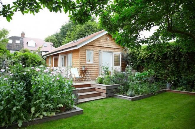 Chìm đắm trong ngôi nhà vườn đẹp lãng mạn như một bức tranh đồng quê