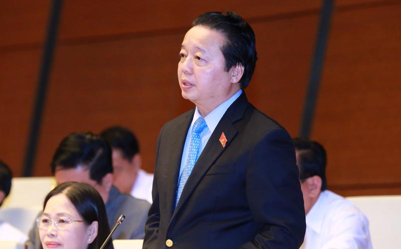Trần Hồng Hà,Bộ trưởng TN&MT,chặt phá rừng,lũ quét,dự báo
