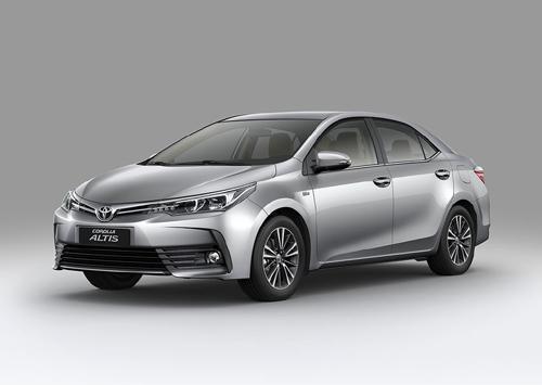 Thiết kế đột phá, nhiều tính năng mới trên Corolla Altis 2017