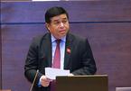 Bộ trưởng củng cố niềm tin tăng trưởng trước Quốc hội