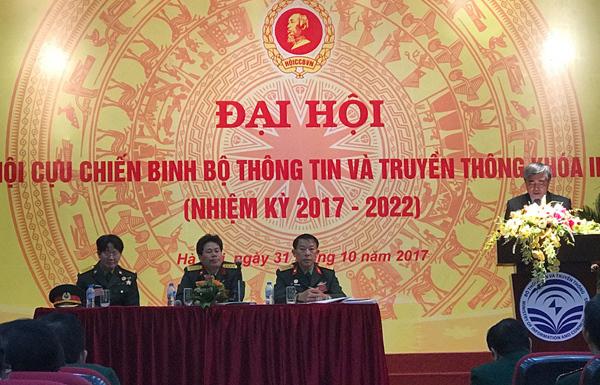 Bầu BCH Hội Cựu chiến binh Bộ TT&TT khoá mới