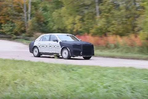 Xem siêu xe mới của Tổng thống Putin lao vun vút