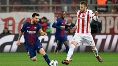 Messi bất lực, Barca bị Olympiakos cưa điểm