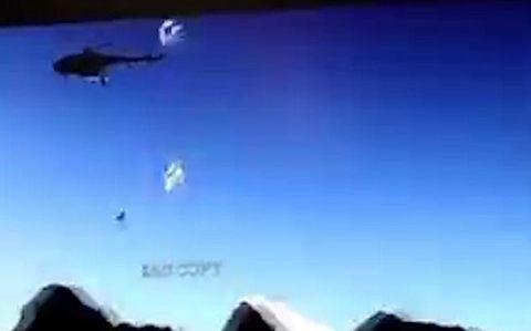 trực thăng rơi ở biên giới