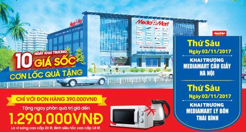 MediaMart khai trương 2 siêu thị mới