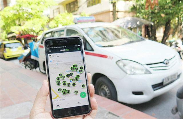 Uber,Grab,Bộ GTVT,nhận diện Grab,nhận diện Uber