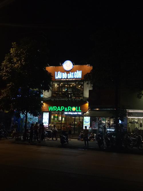 Ẩm thực hẻm Sài thành len lỏi giữa Thủ đô