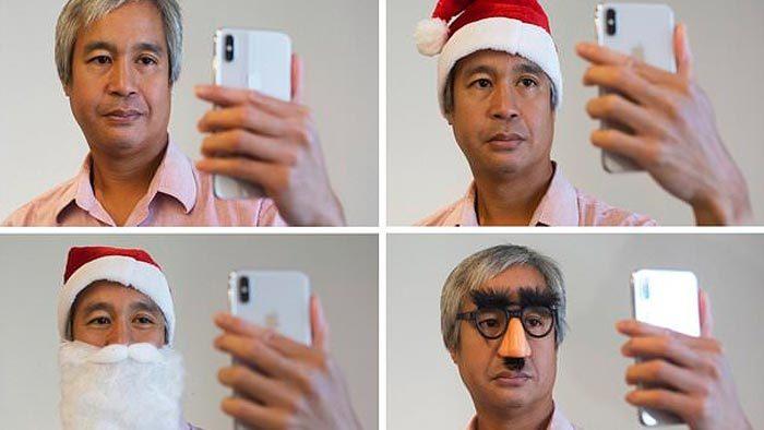 iPhone X,Face ID,nhận diện mặt,Apple,smartphone