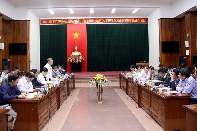 Bộ TT&TT đề nghị Quảng Bình giải quyết những tiêu chí còn thấp