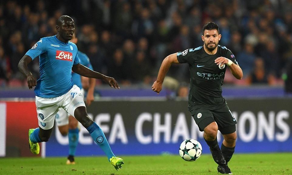 Vùi dập Napoli, Man City theo bước MU vào vòng knock-out