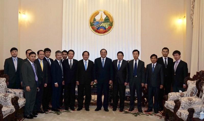 Ký biên bản hợp tác thông tin truyền thông Việt - Lào