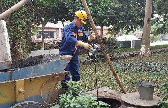 Giây phút nam công nhân suýt mất mạng vì cây đổ trong mưa bão